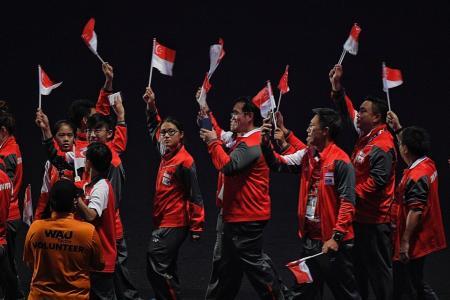 An A- for Team Singapore