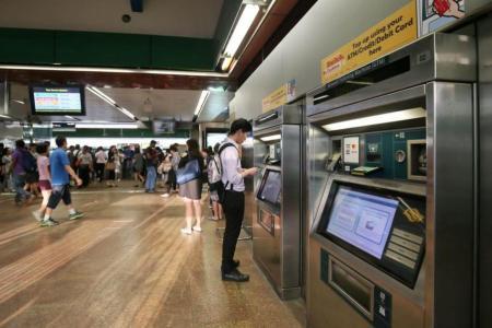 No cash top-ups at 11 MRT kiosks