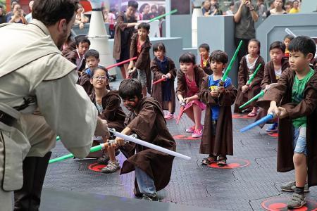 Jedi Train at Orchard Road