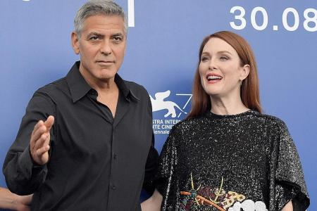 Clooney, Moore join row on Confederate symbols