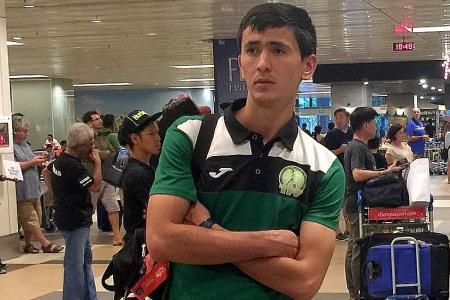 Turkmenistan target double over Singapore