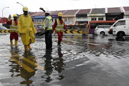 Preventing, managing floods together
