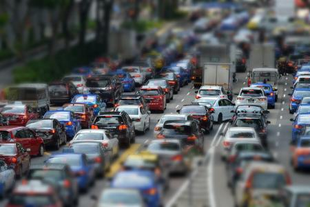 Private-hire cars adding to congestion, traffic jams?