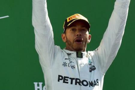 Hamilton usurps Vettel's top spot