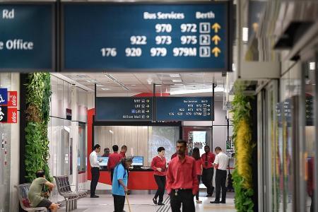 Bukit Panjang transport hub opens