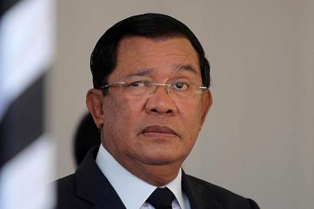 Hun Sen vows to fight foreign interference