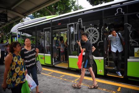 Buses less packed, waiting time shorter: LTA