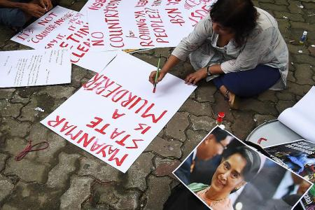 Malala hits out at Suu Kyi over Rohingya crisis