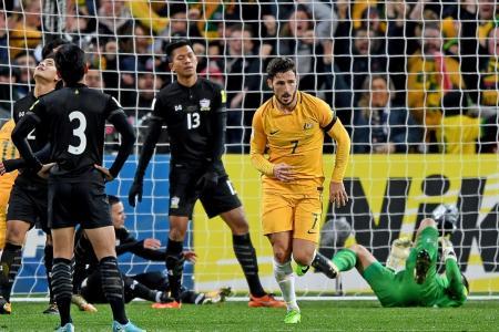 Nervous wait for Socceroos