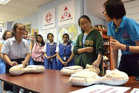 Students learn to frame emergency action plans
