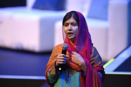 Pakistani Nobel Peace Prize 2014 laureate Malala Yousafzai