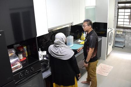 After seven-month ordeal, she finally moves into new flat