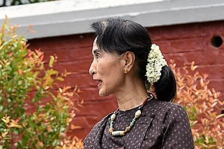 Suu Kyi vows to protect 