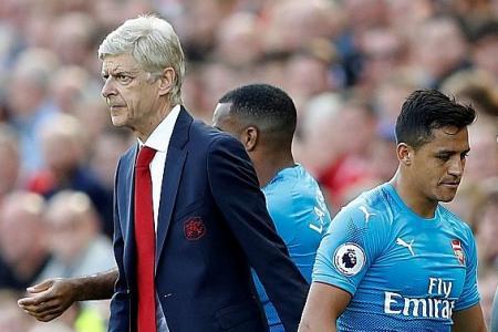 Wenger doesn't doubt Sanchez's mentality