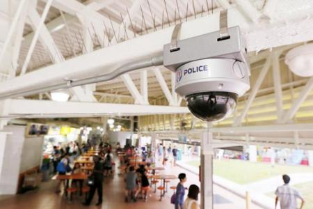 More police cameras to be installed to keep Singapore safer