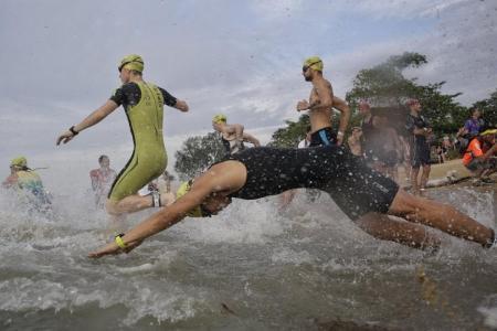 Briton dies in Singapore triathlon