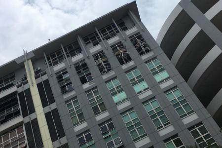 Explosion at Bukit Batok factory