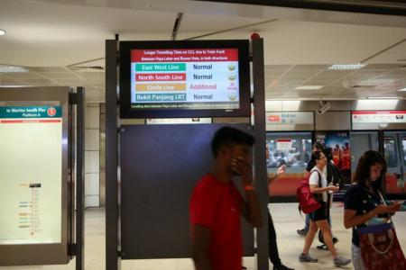 Faulty train on Circle Line affects thousands