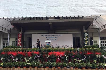 Over 1,000 supporters of Halimah expected at nomination centre today