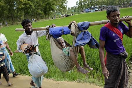 China backs Myanmar's Rohingya crackdown
