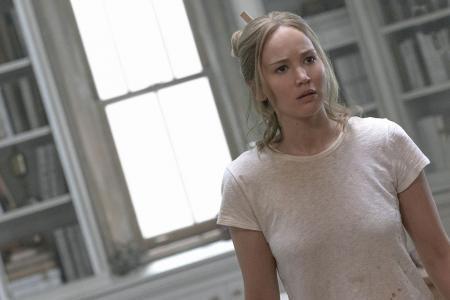 Jennifer Lawrence on struggle filming Mother!: 'I tore my diaphragm'