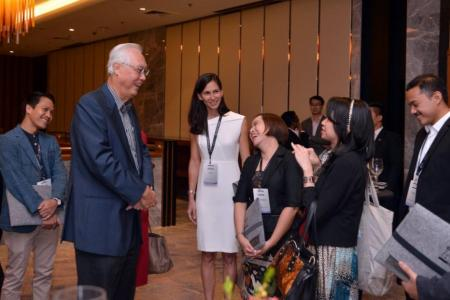 ESM Goh to young leaders: Be grateful and be ready to serve