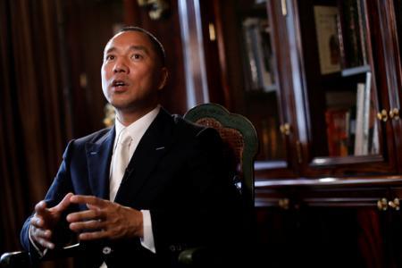 Billionaire businessman Guo Wengui