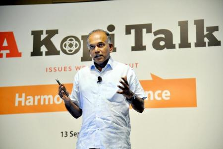 Malay/Muslim community is resilient but facing challenges: Shanmugam