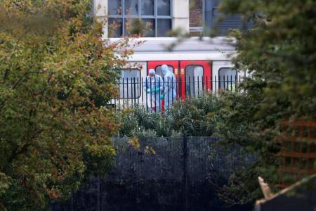 Several hurt in terrorist attack on London underground train