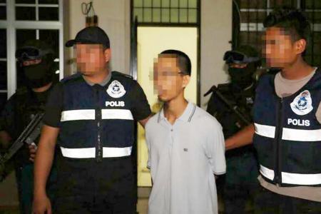Malaysia nabs three terror suspects