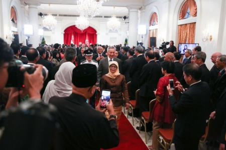 Halimah's rise is Singapore's story