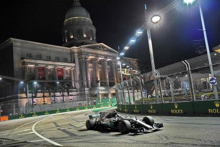 F1 family welcomes S'pore GP extension