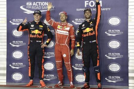 Vettel's loving it