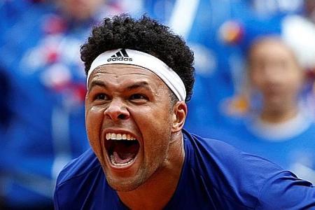 France seal Davis Cup final spot