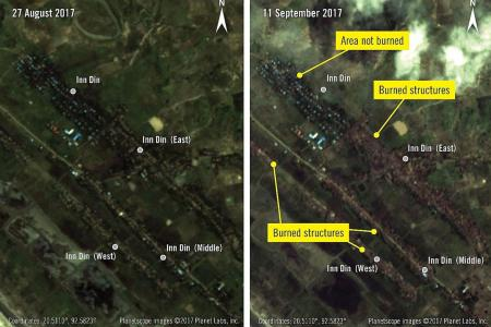 New images show 'clear ethnic cleansing'