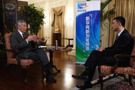 Singapore-China partnership will advance with times: PM Lee