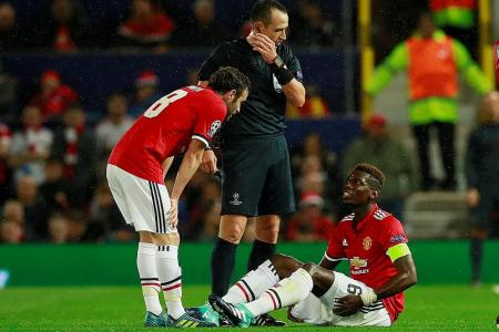 Mkhitaryan fears Pogba's injury may puncture United's form