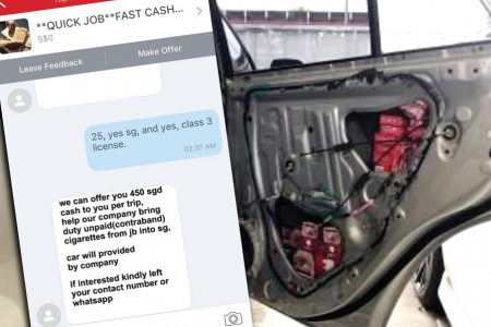Cash for contraband: Cigarette smugglers recruited on Carousell
