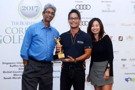Ivan Chua a popular player of the round