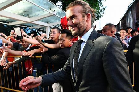 Beckham backs United for EPL title