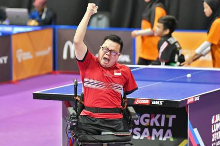 Para star Chee overcomes odds to win gold