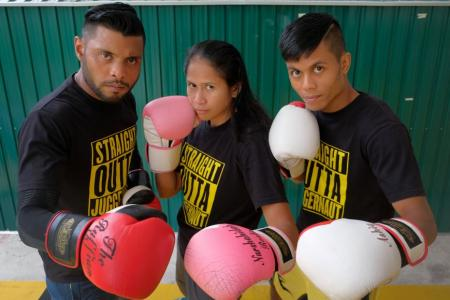 Three Singapore boxers pack a punch for tonight's SFC event