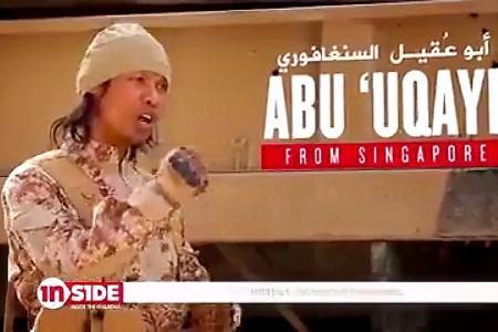 Singaporean jihadist appears in ISIS video