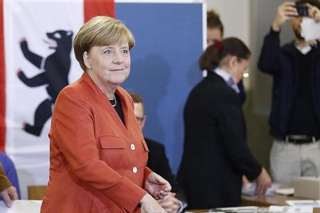 Merkel expected to win fourth term as chancellor