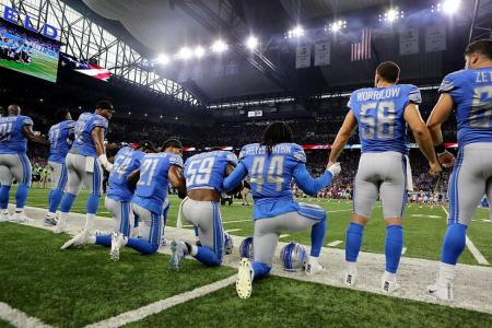 Protests grip NFL as Trump urges boycott
