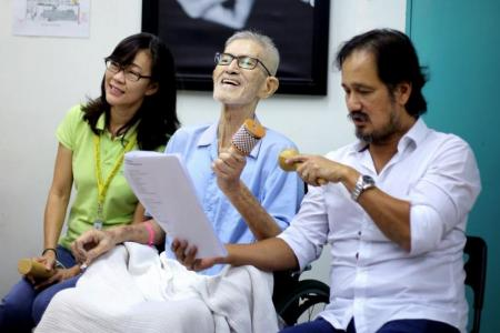 Gurmit Singh gets serious – as hospice ambassador