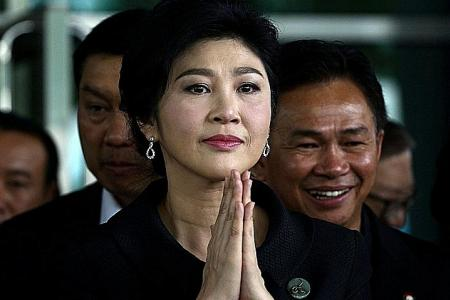 Thai PM knows where Yingluck is but won't say yet