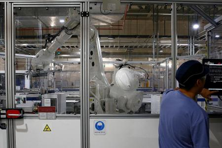 Factory output beats forecasts, soars 19.1%
