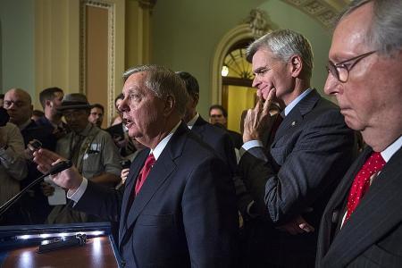Healthcare bill's collapse escalates Republican infighting