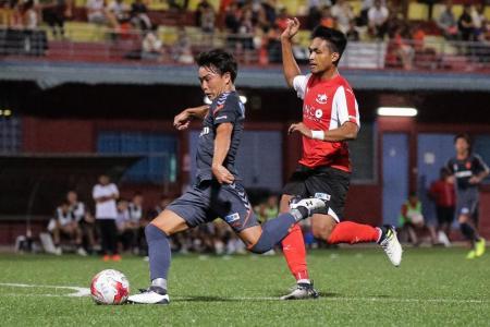 Advantage Albirex in Singapore Cup semi-final